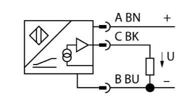 微型编码器 RI90P1-QR20-LU4X2-0.15-DT04-3P