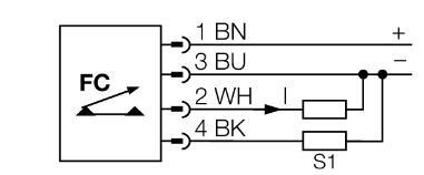 流量傳感器 FTCI-18D15A4P-LI-UP8X-H1141